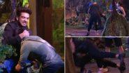 Bigg Boss 15: Karan Kundra Pins Down Pratik Sahejpal During a Fight, His Act Leaves Netizens Angry