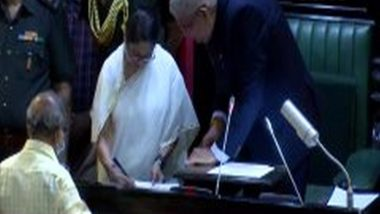 West Bengal: Mamata Banerjee, Two Others Take Oath as MLAs at State Assembly