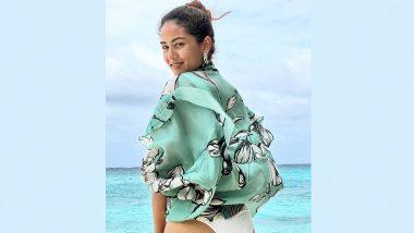 Mira Rajput Calls Herself a 'Beach Bum' As She Shares a Sexy Click From Maldives Vacay!