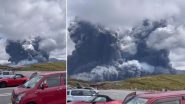 Mount Aso Volcano Erupts in Southern Japan (Watch Video)