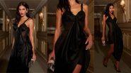 Neymar's Ex-Girlfriend Bruna Marquezine Looks Smoking Hot in Sheer, See Through Black Dress and Bold Red Lips, View Pics