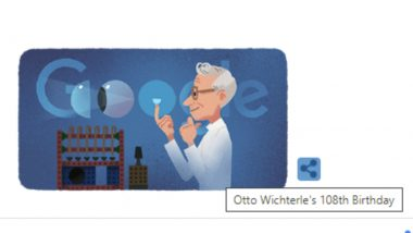 Otto Wichterle Google Doodle: Search Engine Pays Homage to Czech Chemist Who Invented Modern Soft Contact Lenses