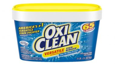 America's No. 1 Stain Remover Brand, OxiClean, Is Now Available in India