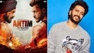 Antim: Riteish Deshmukh Tags the Trailer of Salman Khan and Aayush Sharma Starrer Film As 'Ekdum Kadak'