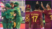 South Africa vs West Indies Live Score Updates of T20 World Cup 2021 Match 18: Catch Live Score Updates, Commentary and Full Scorecard of SA vs WI Cricket Match
