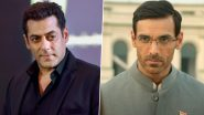 Antim Vs Satyameva Jayate 2: Salman Khan and John Abraham Give Best Wishes to Each Other for Their Respective Films!