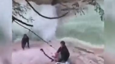 Sikh Men Use Their Turbans To Rescue Stranded Hiker at Canada Waterfall, Watch Video