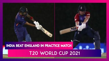T20 World Cup 2021: India Beat England in Warm-up Match