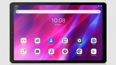 Lenovo Tab K10 With 10.3-inch FHD Display & MediaTek Helio P22T SoC Launched in India
