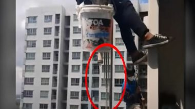 Thailand Shocker: Woman Cuts Support Rope for Two Painters Leaving Them Hanging Above 26th Floor of High-Rise, Watch Video
