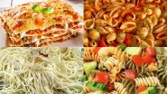 World Pasta Day 2021: From Ravioli to Rotini, 7 Kinds of Pasta You Must Try