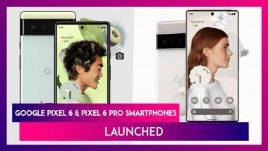 Google Launches Pixel 6 & Pixel 6 Pro Smartphones At Pixel Fall Launch Event