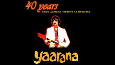Yaarana Clocks 40 Years: Amitabh Bachchan Reveals How Saara Zamana Song Shoot in Kolkata Sent Fans Into a Frenzy!
