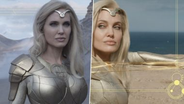 Eternals Star Angelina Jolie Opens Up About Her Marvel Movie Character Thena