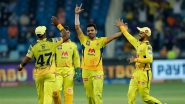 CSK Win IPL 2021: See How Netizens Reacted to MS Dhoni's Yellow Army Clinching Fourth Title With Victory Over KKR in Summit Clash