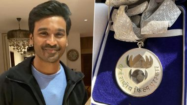 Dhanush Wins Best Actor Honour For Asuran At The 67th National Film Awards, Dedicates The Medal To His Fans (View Pic)