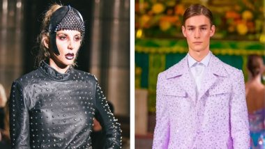 Designers Michael Lombard and Michael Cinco Rock the Runway With Roaring Collections at Paris Fashion Week