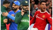 From India vs Pakistan in T20 World Cup 2021 to Cristiano Ronaldo's Manchester United Taking on Liverpool, Here's the List of Events That Will Keep You Busy on Oct 24, 2021