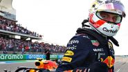 Max Verstappen Reacts After Attaining Pole Position in US Grand Prix 2021, Qualifying Round (See Pic)