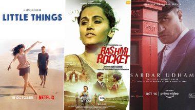 OTT Releases Of The Week: Mithila Palkar's Little Things Season 4 on Netflix, Taapsee Pannu's Rashmi Rocket on ZEE5, Vicky Kaushal's Sardar Udham on Amazon Prime Video and More