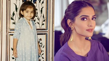 Sonam Kapoor Ahuja Treats Fans With Her Adorable Childhood Photo