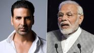 Akshay Kumar Thanks PM Narendra Modi for India's 100 Crore Vaccination Milestone, Calls It an 'Incredibly Proud Day'