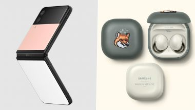 Samsung Galaxy Z Flip3 Bespoke Edition, Galaxy Watch4 Bespoke Edition & Galaxy Buds2 Maison Kitsune Edition Launched