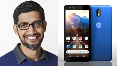 Here's What Google CEO Sundar Pichai Has To Say About Soon To Be Launched Affordable JioPhone Next