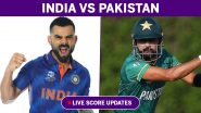 India vs Pakistan Highlights of T20 World Cup 2021 Match 16: Babar Azam, Mohammed Rizwan Guide PAK to Historic Win