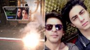 Aryan Khan Bail Granted: Fans of Shah Rukh Khan Gather Outside Mannat and Celebrate the Decision of Bombay High Court (View Pics)