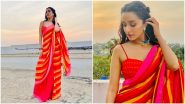 Karwa Chauth 2021: Shraddha Kapoor's Stunning Red Saree Should Be Your Outfit Inspiration This Year (View Pics)