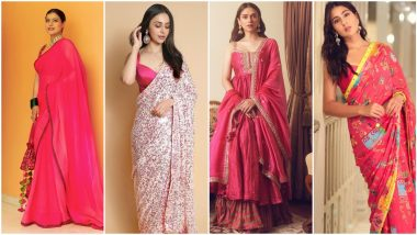 Sara Ali Khan, Kajol and Other Celebs Proving Why Pink is The Colour of This Season (View Pics)