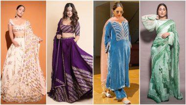 Karwa Chauth 2021: Hina Khan's Style Staples To Amp Up Your Wardrobe This Festive Season
