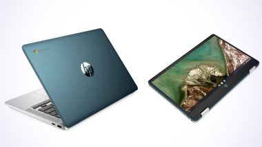 HP Chromebook x360 14a With AMD Processor Launched in India at Rs 32,999