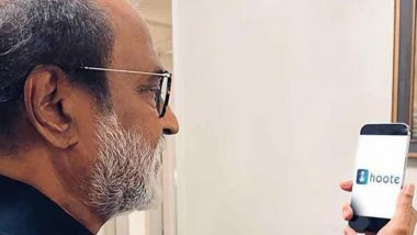 Hoote: Rajinikanth Launches Daughter Soundarya's Voice-Based Social Media App