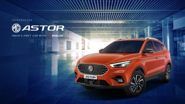 MG Astor SUV Launched in India From Rs 9.78 Lakh; Check Prices, Bookings, Variants & Specifications Here