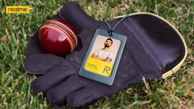 Realme Announces Indian Cricketer KL Rahul As Its New Brand Ambassador