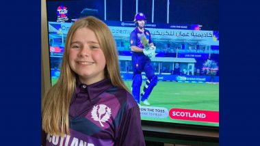 Rebecca Downie, 12-Year-Old, has Designed Scotland Cricket Team's Jersey for ICC T20 World Cup 2021