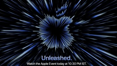 Apple Unleashed Event LIVE News Updates: New MacBook Pro Models, AirPods 3 & More Expected To Be Launched