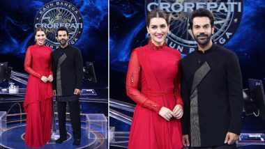 KBC 13: Kriti Sanon and Rajkummar Rao to Appear as Special Guests on Amitabh Bachchan's Quiz Show