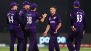 Scotland Beat Hosts Oman To Secure Super 12 Qualification At ICC World Cup 2021