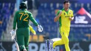 AUS vs SA, T20 World Cup 2021 Super 12 Stat Highlights: South Africa Batters Struggle As Australia Win Low-Scoring Encounter