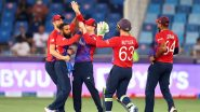 ENG vs WI, T20 World Cup 2021 Super 12 Stat Highlights: England Register First Win Over West Indies At Twenty-20 WC