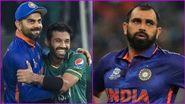 'Please Respect Your Stars' Pakistan Opener Mohammad Rizwan Tweets in Support of Mohammed Shami After Indian Pacer Faces Online Abuse