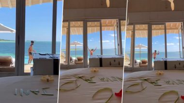 Shahid Kapoor Is Enjoying Sun, Sand, Sea and Some Moonwalking Too At His Maldivian Vacay! (Watch Video)