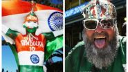 IND vs PAK, T20 World Cup 2021: Indian Cricket Fan Sudhir & Chacha Chicago Cheer for Respective Countries (Watch Videos)