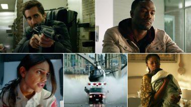 Ambulance Trailer: Jake Gyllenhaal, Yahya Abdul-Mateen II Turn Bank Robbers in Michael Bay's Action Thriller (Watch Video)