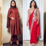 Karwa Chauth 2021: Priyanka Chopra Jonas, Kangana Ranaut and Others' Red Outfits That You Can Try This Festive Season (View Pics)