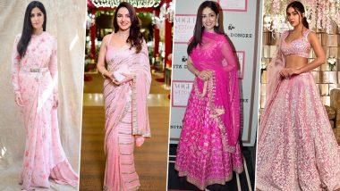 Navratri 2021 Day 8 Colour Pink: Katrina Kaif, Jasmine Bhasin and Other Beauties Whose 'Pinkalicious' Avatars Had Our Hearts (View Pics)