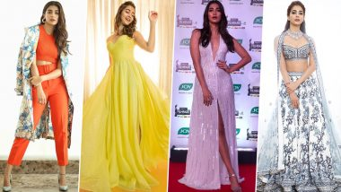 Pooja Hegde Birthday: Peppy and Chic, Her Sartorial Offerings Make Us Fall For Her Harder (View Pics)